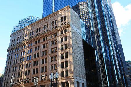 Historic and modern buildings, Boston Reklamní fotografie