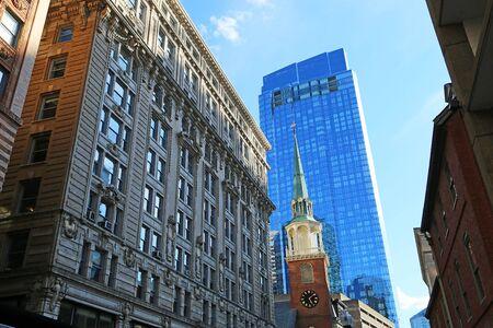 On the street of Boston, Massachusetts Reklamní fotografie