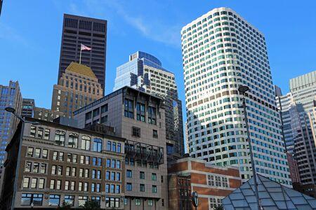 Boston buildings, Massachusetts
