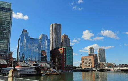 The port of Boston, MA