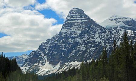 Mount Chephren, Jasper NP, Canada