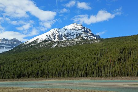 Sunwapta River Valley, Jasper NP, Canada