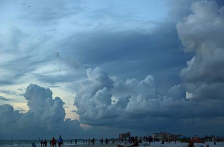 Clouds over Clearwater Beach, Florida
