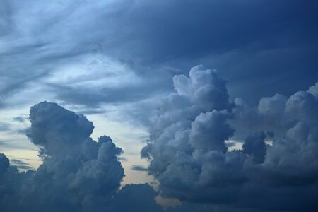 Clouds, Clearwater beach, Florida Imagens