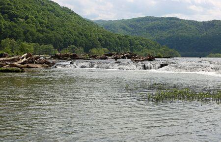 Landscape with Sandstone Falls, West Virginia