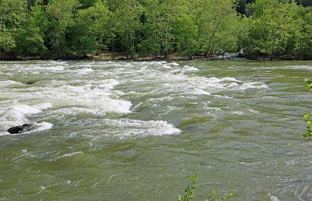 New River stream, West Virginia