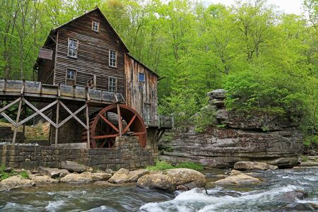 Historic grist Mill - Babcock State Park, West Virginia