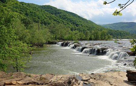 Landscape with Sandstone Falls, West Virginia