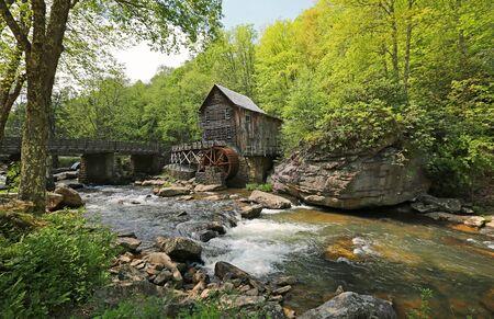 Parc d'État de Babcock, Virginie-Occidentale Banque d'images