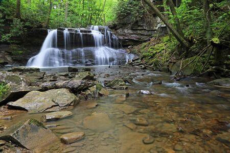Upper Falls and Fall Run, West virginia