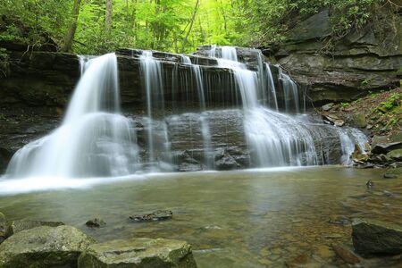 Upper Falls in Hooly River SP, West Virginia