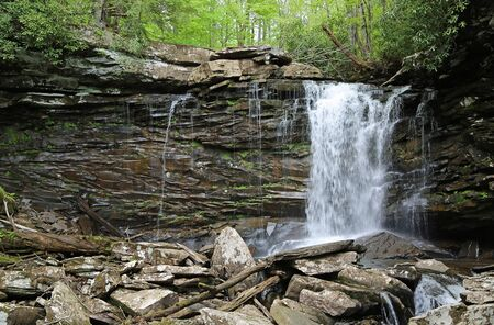 Middle Falls of Hills Creek, West Virginia