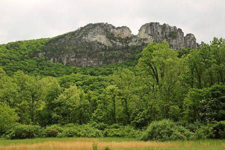 Landscape with Seneca Rocks, West Virginia Reklamní fotografie