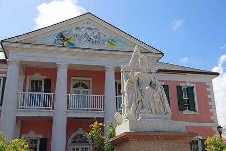 Queen Victoria Statue, Nassau, Bahamas