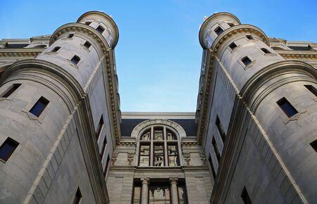 Entrance to City Hall, Philadelphia