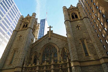 Front of St John Evangelist, Philadelphia