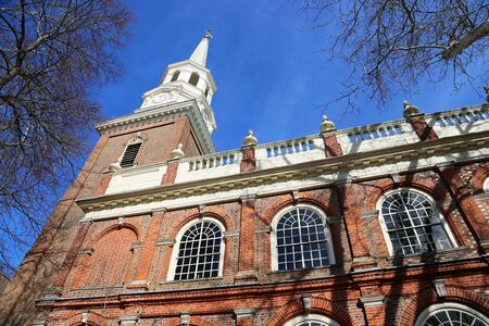 Side view at Christ Church, Philadelphia