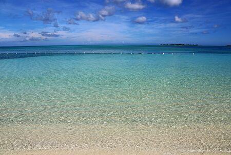 Swim area, Bahamas Stok Fotoğraf