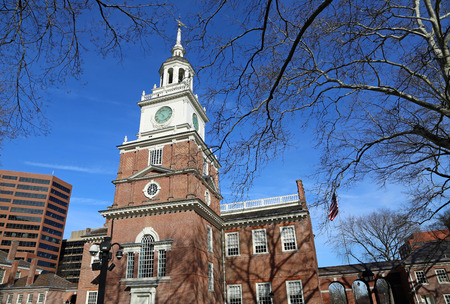 The tower and the trees, Independence Hall, Philadelphia Editöryel