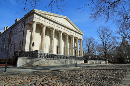 The Second Bank of the US, Philadelphia