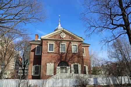 Back view at Carpenters Hall, Philadelphia