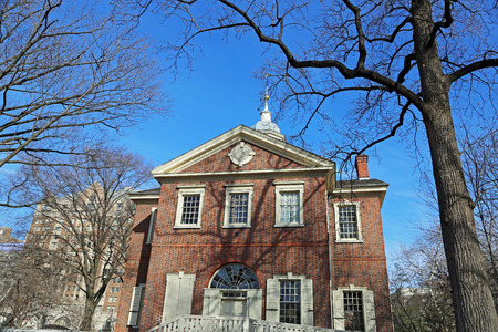 Carpenters Hall and the tree, Philadelphia Editöryel