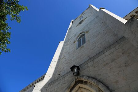 The tower of Christ Church Cathedral, Nassau, Bahamas Stok Fotoğraf