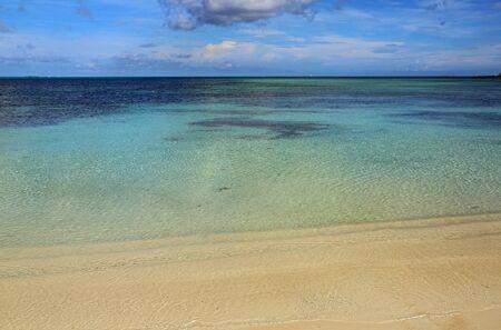 Coast of Bahamas Stock Photo