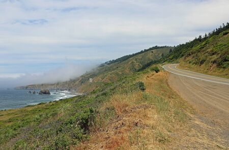 Highway California 1 Archivio Fotografico - 138267030