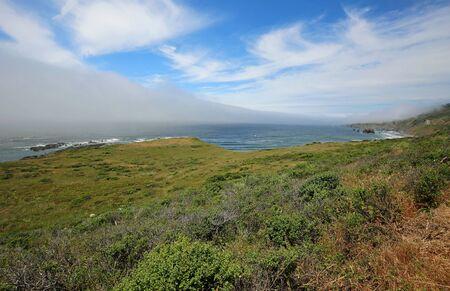 Panorama on Pacific, California Archivio Fotografico - 138267032