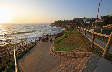 Entering coastal walk, Australia