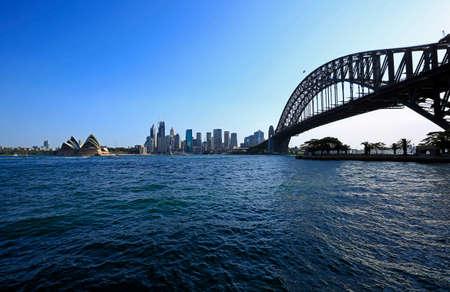 Milsons Point view, Sydney, Australia Editorial