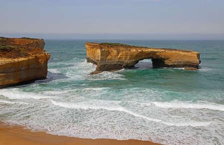 The London Bridge - Victoria, Australia Stockfoto