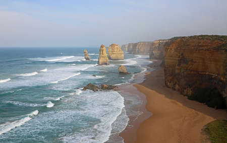Sunrise landscape with Twelve Apostles - Campbell National Park, Victoria, Australia