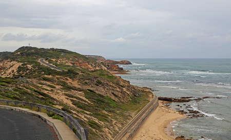 Ocean coast of Point Nepean - Victoria, Australia