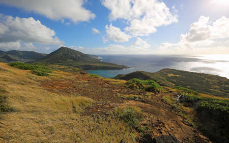 South east shore of Oahu - Hanauma Bay, Oahu, Hawaii 스톡 콘텐츠