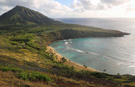 Hanauma Bay and Koko crater, Oahu, Hawaii