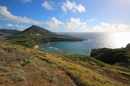 View at Hanauma Bay, Oahu, Hawaii