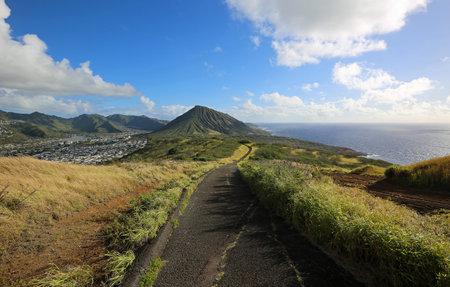 Hanauma Bay ridge trail, Oahu, Hawaii