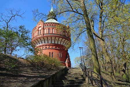 Water Tower on Dabrowski Hill - Bydgoszcz, Poland
