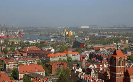 View at the Museum of the Second World War - Gdansk, Poland