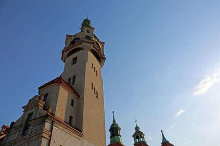 Sopot lighthouse on blue sky  - 1901 - Sopot, Poland