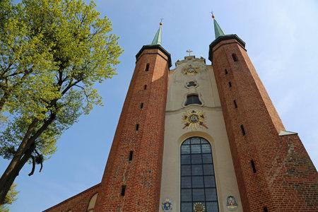Gdansk Oliwa Archcathedral - Gdansk Oliwa, Poland Archivio Fotografico