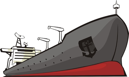 schip voor het vervoer van de diverse goederen