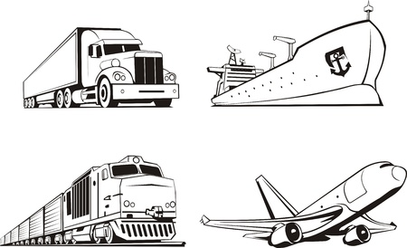 means of transportation: transportation cargo by all means of transport
