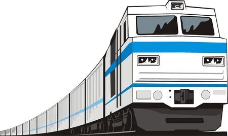 locomotiva per il trasporto merci