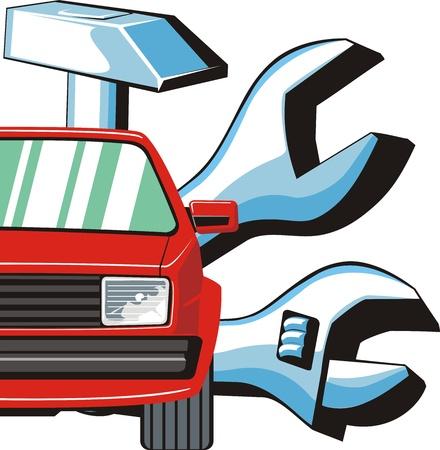hummer: car detail repair and car fix sign