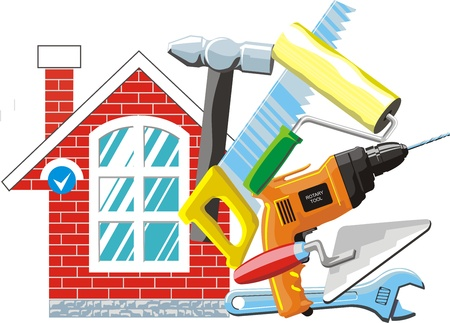hummer: tool set for a house fix