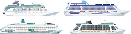 large ships for sea travel