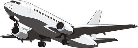 avión de pasajeros promedio por vía aérea interna